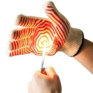 932 Fahrenheit heat resistance oven glove