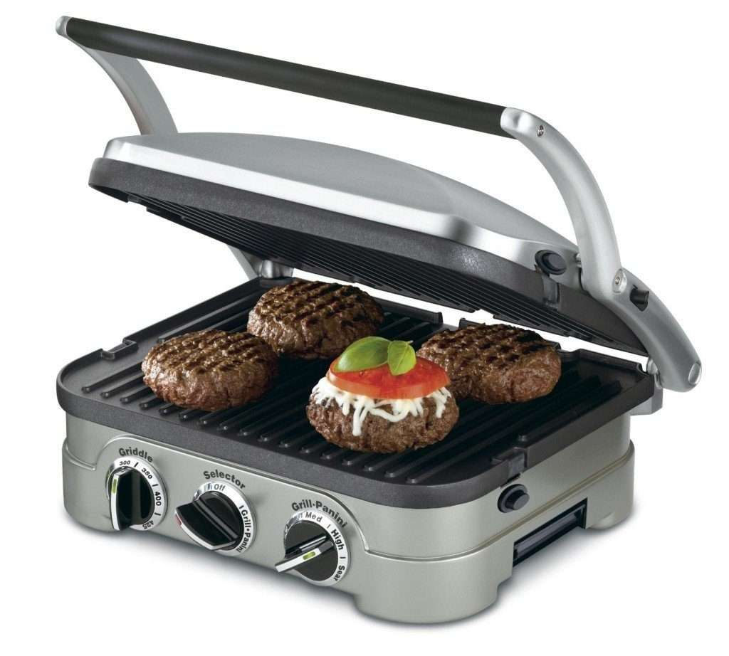 cuisinart indoor grill gr 4n review