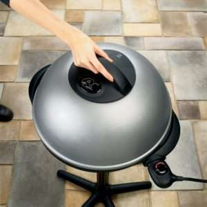 George Foreman GGR50B electric indoor outdoor grill